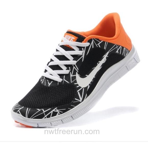 Poshmark bianca V3 Running Free Orange scarpe nero Nike 40 Rq8vw4x
